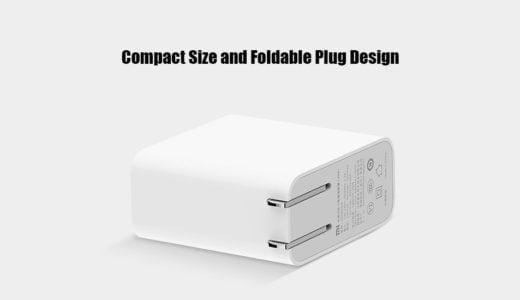 【実機レビュー】小型でシンプルな45W対応充電器【Xiaomi Mi USB-C Charger】MacBookにもおすすめ