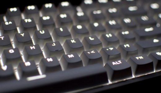 【実機レビュー】低予算で普通じゃないキーボードを使ってみたい方へ!中国製赤軸キーボード|Xiaomi Yuemi MK01【使い心地よし】