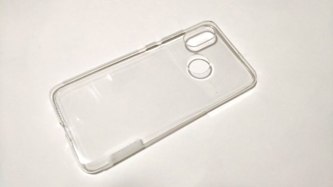 Nillkin Nature Transparent Clear Soft silicon TPU Protector cover