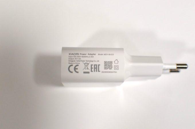 Xiaomi Mi A2 power plug