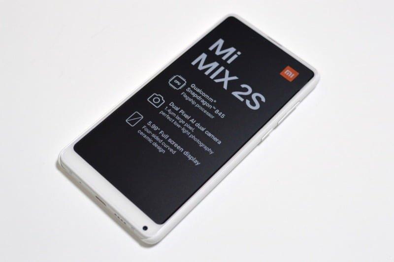 【実機レビュー】Xiaomiスマホの最高峰!格安だけど高品質なスマホを求める方にオススメ Mi MIX 2S