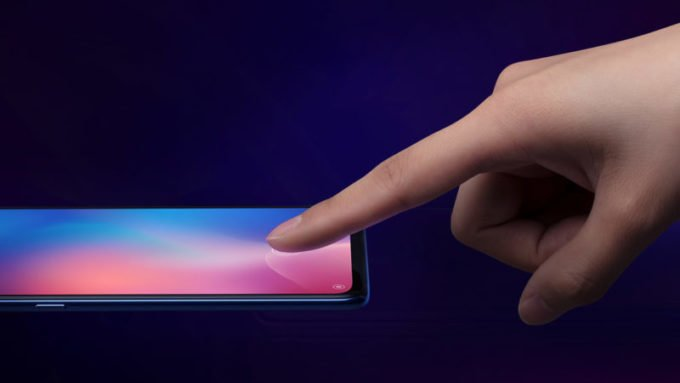 Fingerprint on display
