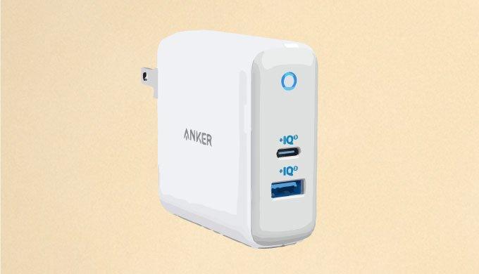 【実機レビュー】Type-CとA両刀遣いの便利なUSB充電器|Anker PowerPort Atom III