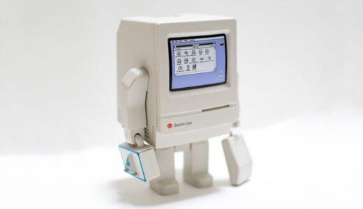 【フォトレビュー】Classicbot OS 2.0|往年のレトロマックClassicのフィギュアにマニア感涙!