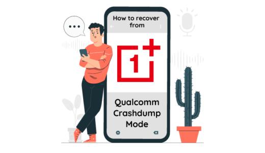 【TIPS】OnePlusスマホでQualcomm CrashDump Modeから脱出する方法【ROM焼き失敗ブートループ】